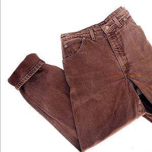 VINTAGE 90's LANDS END mom jeans high waisted rise